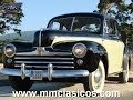 MM CLASICOS FORD V8 COUPE SUPER DELUXE 1947