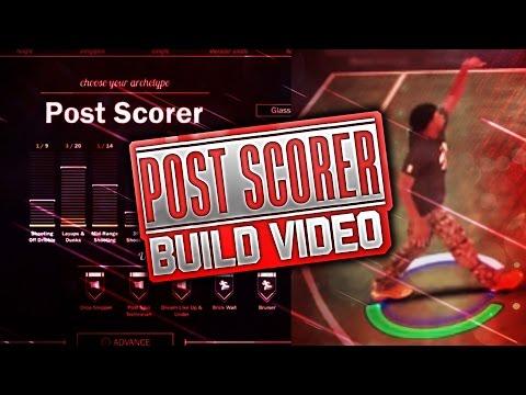 THE 6'6 POST SCORER EXPERIMENT!! DOMINANT vs. FLOP!! AGENT 00'S NBA 2K17 POST SCORER BUILD