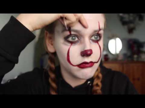 It- Pennywise Facepaint Tutorial