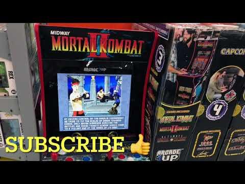 Arcade1Up Floor Model Sold Cheap At Walmart Arcade 1Up from rarecoolitems