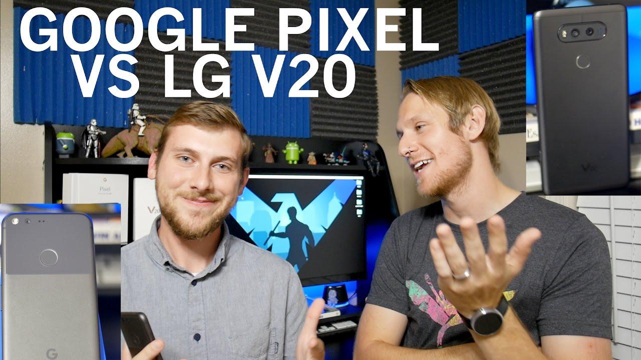 Google Pixel VS LG V20 - Top 5 Feature Comparison