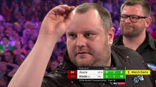WADE IS OUT! Joyce into Quarter-Finals   2018/19 World Darts Championship