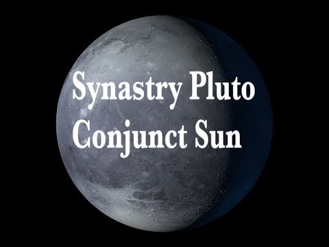 Synastry Pluto Conjunct Sun-Fated, Powerful connection,, Transformation