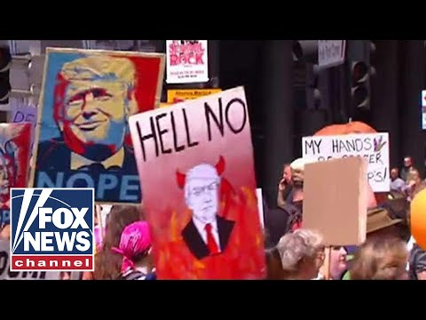 Hannity interviews anti-Trump protesters in London