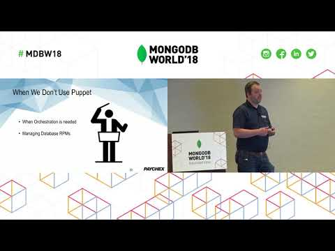 Using Puppet, Ansible and Ops Manager Together to Create Your Own On-Premise MongoDB as a Service!