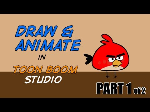 How to Draw and Animate in Toon Boom Studio - PART 1 of 2