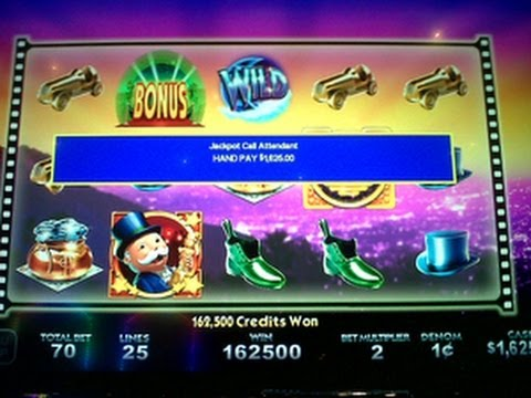 Big Win Wms Super Monopoly Money Slot Machine Bonus