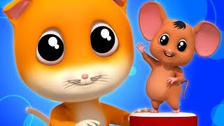 Pussy Cat Pussy Cat | Nursery Rhymes Songs For Children | Baby Rhymes