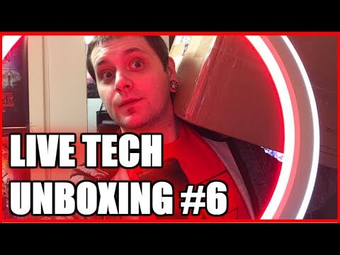 LIVE TECH UNBOXING #6 | Razer BlackWidow & Razer Mamba HyperFlux PLUS FireFly HyperFlux