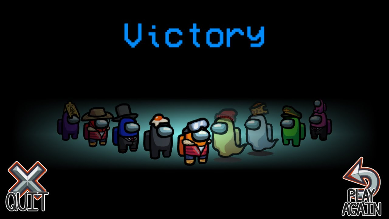 My 1st Victory in Among US - DEsi Army