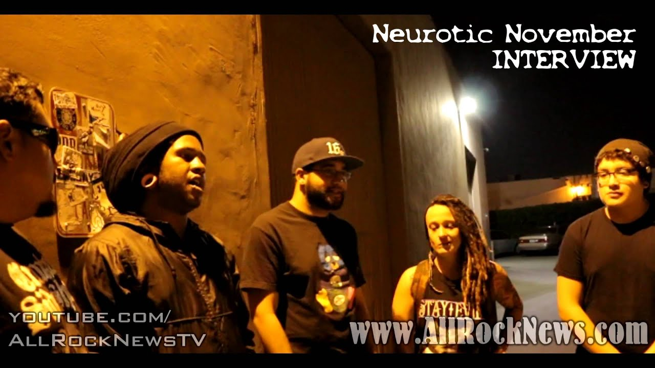 Neurotic November INTERVIEW 2014  Talk Tour, Juggalos, Hopsin, Tech N9ne  and more