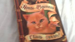 Обзор книги (коты воители )