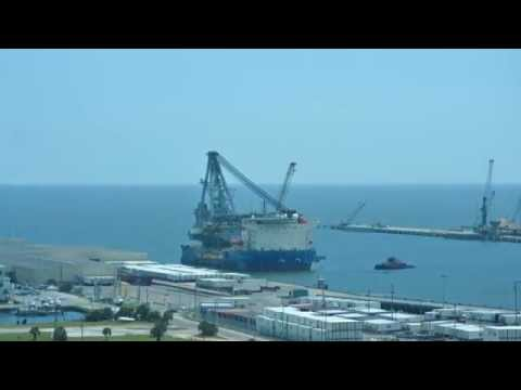 McDermott vessel arrives at the Port of Gulfport