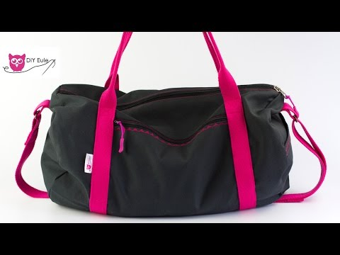 Nähen Sporttasche Diy Dufflebag Euledufflebagdafne Youtube 4AR3jLSc5q