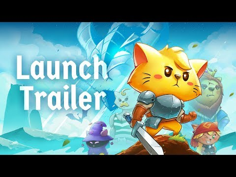 Cat Quest - Official Launch Trailer - iOS, Steam