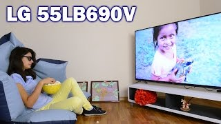 LG 55LB690V: обзор телевизора(Цена и наличие: http://rozetka.com.ua/lg_55lb690v/p671844/ Видеообзор LED-телевизора LG 55LB690V Смотреть обзоры других телевизоров:..., 2014-09-10T06:36:41.000Z)