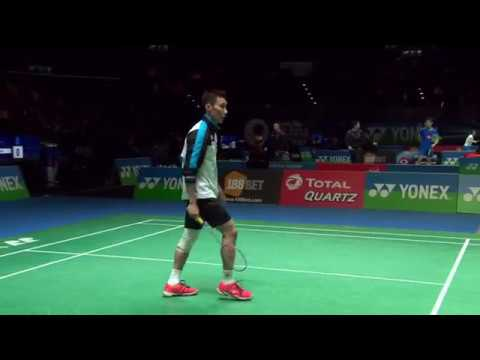 Yonex All England Open 2017 | Badminton R16 M2-MS | Lee Chong Wei vs Wang Tzu Wei