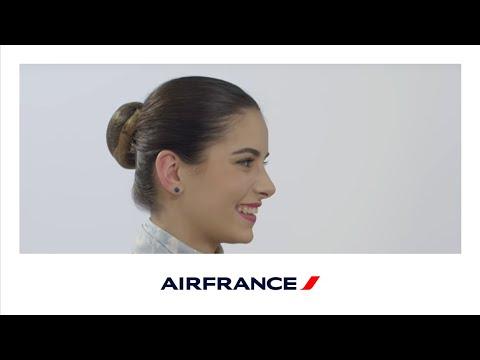 Mathilde, alternante Personnel Navigant Commercial Air France