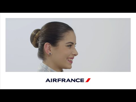 Mathilde, alternante Personnel Navigant Commercial Air France