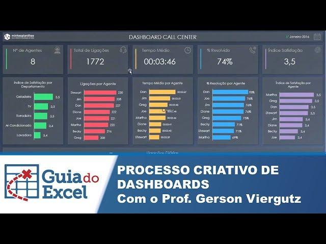 [Excel] Processo criativo de Dashboards