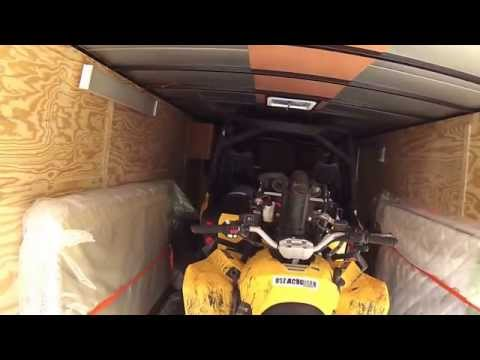 Enclosed trailer build for ATV riders part 1