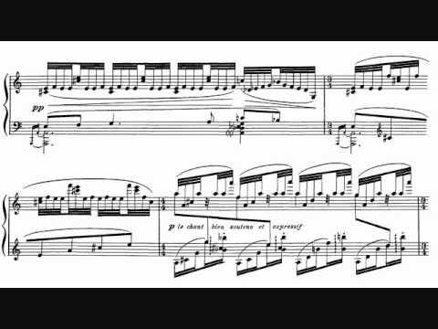 """Ravel - Gaspard de la Nuit, No. 1, """"Ondine"""" Sheet Music + Audio"""