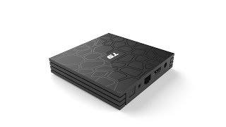 T9 RK3328 Android 8.1 4GB/32GB 4K TV BOX with LED Display KODI 17.6 WIFI Bluetooth LAN USB3.0 H.265