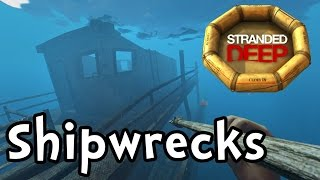 "Stranded Deep E02 ""Shipwreck Salvage!"" (Sandbox Survival 1080p60)"