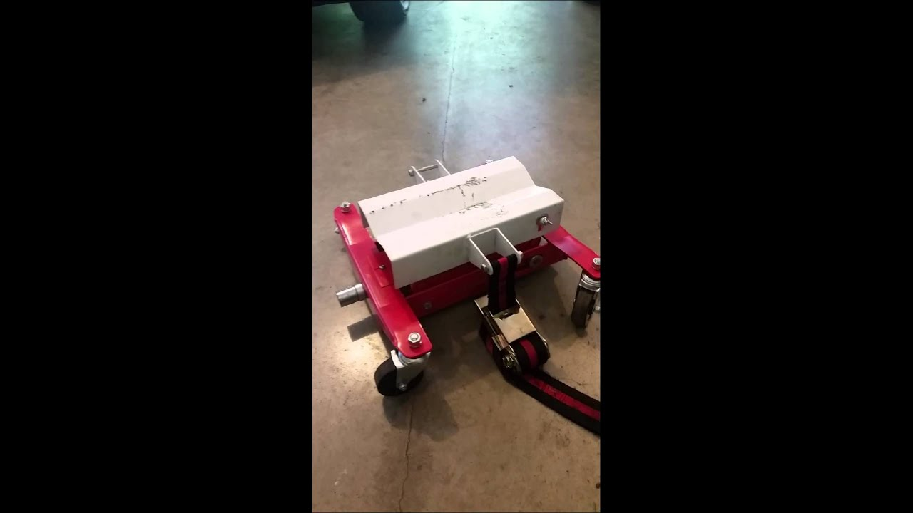 Harbor Freight Transmission Jack Review   YouTube