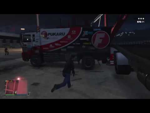 GTA 5 Crazy Flying Debri
