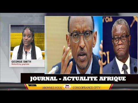 RDC : RWANDA Les Menaces de Paul KAGAME à Dr Denis MUKWEGE