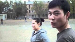 Playing baseball in Kazakhstan