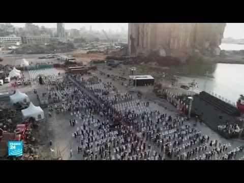 في الذكرى الأولى لانفجار مرفأ بيروت.. اللبنانيون من جميع الطوائف يطالبون بالحقيقة والعدالة
