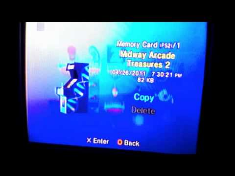 how to tell if ps2 memory card is fake