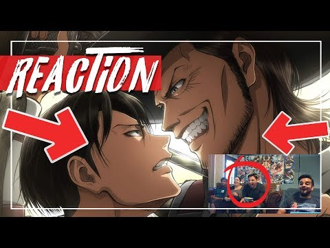 Levi vs Kenny Attack on Titan Season 3 Episode 2 REACTION and review