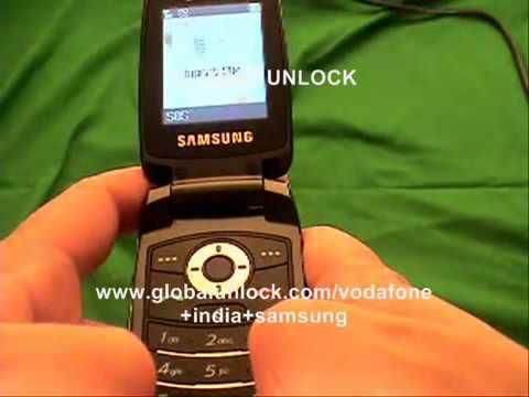 How To Unlock Any Samsung Vodafone India - globalunlock.com