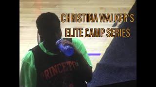 Christina Walker Princeton 2018 Girls Basketball Camp Highlights