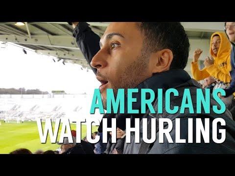 Americans Watch Irish Hurling LIVE - Ep. 22