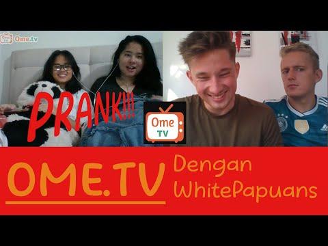 OME TV! Bule Papua PRANK ORANG dari seluruh INDONESIA #WhitePapuans