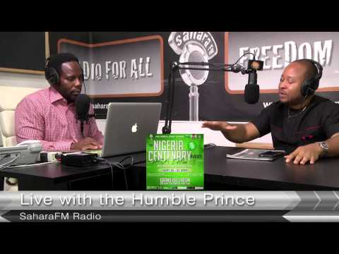 Live With The Humble Prince Interview With Nigerian Centenary Awards Organizer
