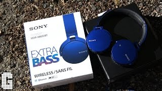 First Look! Sony Extra Bass MDR-XB650BT Review