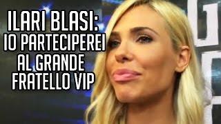 """Ilary Blasi: """"Io parteciperei al 'Grande Fratello Vip'"""". TvZoom.it"""