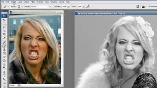 Как поменять лицо в фотошопе(Как БЕСПЛАТНО сделать свой интернет в 2 раза быстрее за 5 мин: http://kurs-video.com Этот фотошоп урок с сайта http://www.ADinf..., 2010-03-22T01:32:34.000Z)