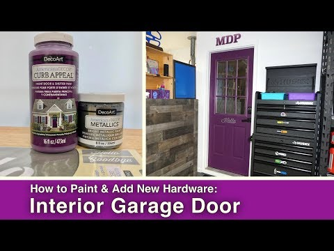 DIY Paint and Update to an Interior House Door