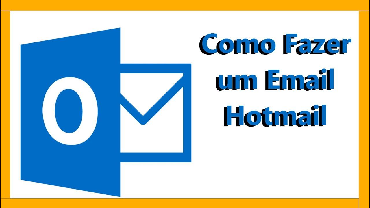 como criar email hotmail - photo #32