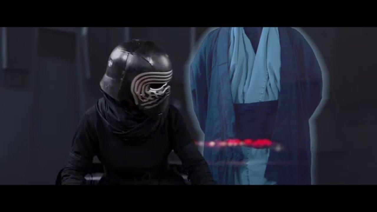 Anakin 39 s force ghost deleted scene youtube - Lego star wars anakin ghost ...