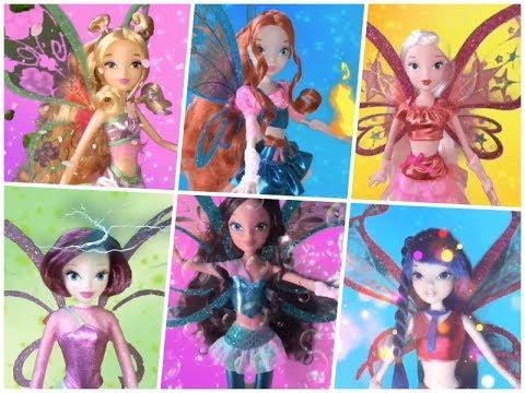 Winx Believix Doll Transformations Movie Style