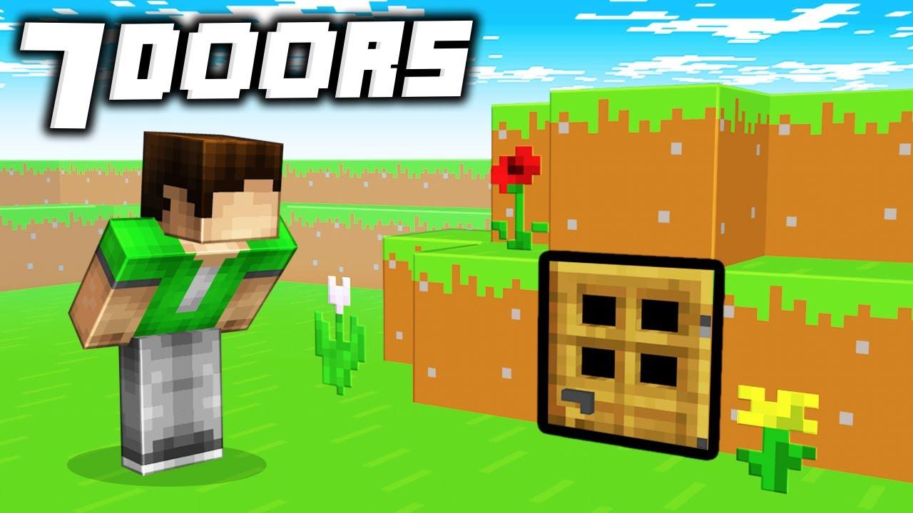 Download 7 TikTok SECRET Doors Your Friends Will Never Find in Minecraft!