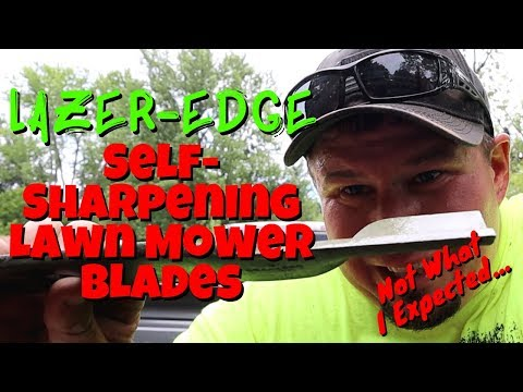 Lazer Edge Self Sharpening Lawn Mower Blades | Fisher Barton 1 Month Review 👎