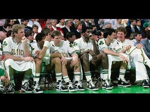 Larry Bird the Greatest on the Greatest Team Ever 1986 NBA Finals Rockets Celtics